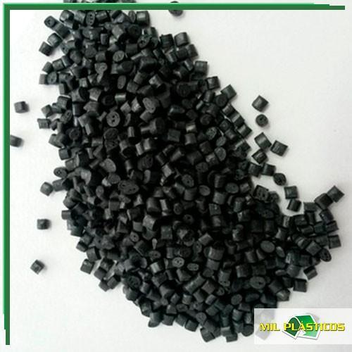 Abs preto reciclado