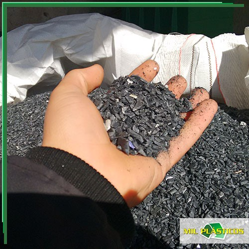 Abs cinza reciclado