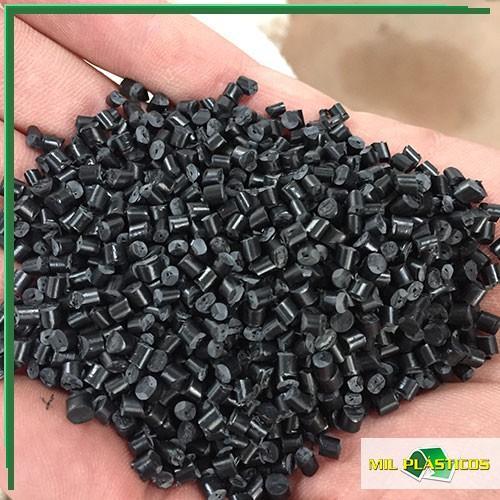 Abs granulado reciclado